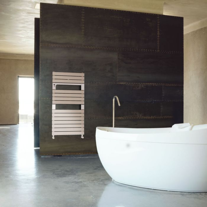 Lazzarini Way - Torino - Mineral Quartz Designer Heated Towel Rail - 952 x 550mm