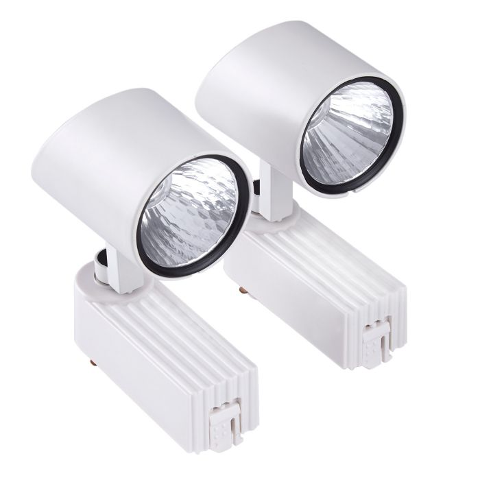 Biard LED 2 x 7W Track Light - White