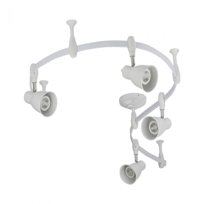 Biard Panza 2m Flexible Track Light Kit - White