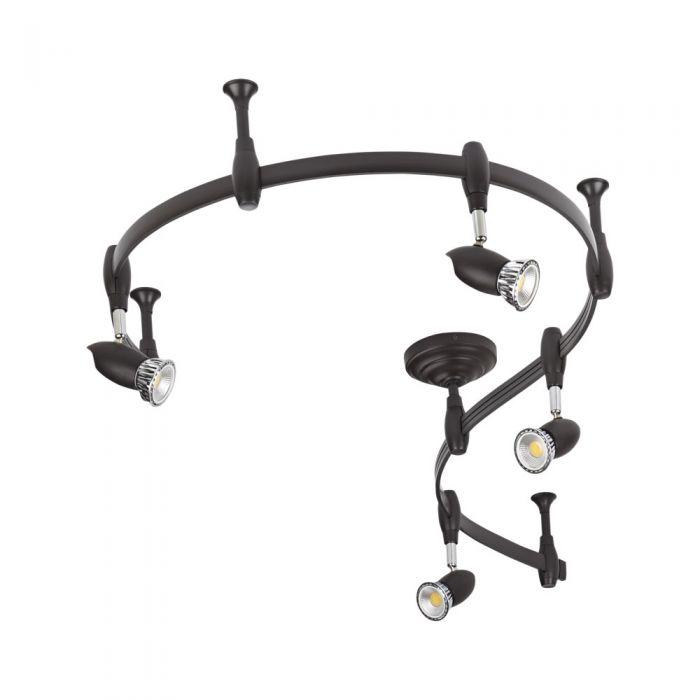 Biard Forio 2m Flexible Track Light Kit - Black