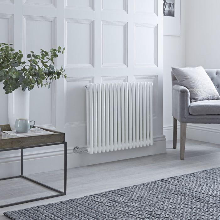 Milano Windsor - Traditional White 2 Column Electric Radiator 600mm x 788mm (Horizontal)