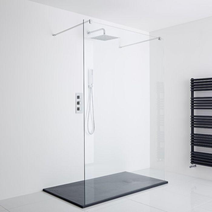 Milano Portland Floating Shower Enclosure (1400 x 800mm)