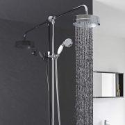Hudson Reed Luxury Rigid Riser Shower Kit