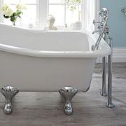 Hudson Reed Topaz Freestanding Bath Shower Mixer Tap
