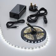 Biard LED IP20 5m 5050 Plug & Play Strip Light Kit - Cool White
