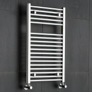 Sterling - Chrome Flat Heated Towel Rail - Radiator 800mm x 500mm