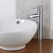 Milano Mirage High Rise Tall Mono Basin Mixer Tap