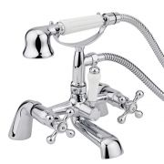 Milano Derwent Bath Shower Mixer Tap - Small Handset