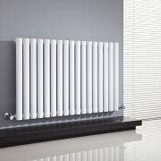 Milano Aruba - White Horizontal Designer Radiator - 635mm x 1000mm