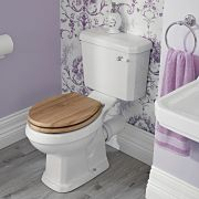 Milano Carlton - Toilet Pan and Cistern - Choice of Seat