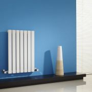 Milano Capri - White Horizontal Flat Panel Designer Radiator - 635mm x 420mm