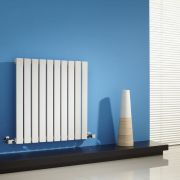Milano Capri - White Horizontal Flat Panel Designer Radiator 635mm x 600mm