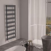 Milano Passo - Aluminium Designer Heated Towel Rail 1590 x 500mm Anthracite