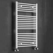Sterling Premium White Flat Heated Towel Rail 1000mm x 600mm