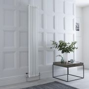 Milano Windsor - White Vertical Traditional Column Radiator - 1800mm x 290mm (Double Column)
