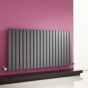 Milano Capri - Anthracite Horizontal Flat Panel Designer Radiator - 635mm x 1180mm