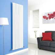 Milano White Vertical Single Slim Panel Designer Radiator 1780mm x 560mm