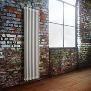 Milano Windsor - Traditional White Vertical Column Radiator - 1800mm x 473mm (Triple Column)