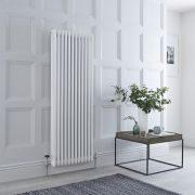 Milano Windsor - White Traditional Vertical Column Radiator - 1500mm x 563mm (Triple Column)