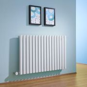 Milano Aruba - White Horizontal Electric Designer Radiator 635mm x 1000mm