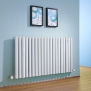 Milano Aruba - White Bluetooth Equipped Electric Horizontal Designer Radiator - 635mm x 1180mm