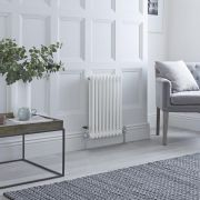 Milano Windsor - Traditional White 2 Column Radiator 600mm x 405mm (Horizontal)