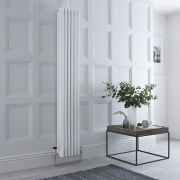 Milano Windsor - White Traditional Vertical Column Radiator - 1800mm x 270mm (Four Column)