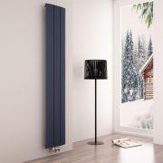 Milano Skye - Anthracite Vertical Designer Radiator - 1800mm x 280mm
