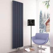Milano Skye - Aluminium Anthracite Vertical Designer Radiator 1800mm x 470mm