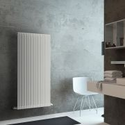 Lazzarini Way Grosseto V - White Vertical Designer Radiator - 1506mm x 680mm