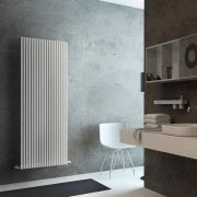 Lazzarini Way Grosseto V - White Vertical Designer Radiator - 1806mm x 680mm