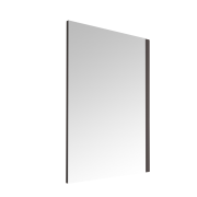 Milano Oxley - Matt Grey Mirror - 700mm x 500mm