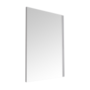 Milano Oxley - Matt White Mirror - 700mm x 500mm