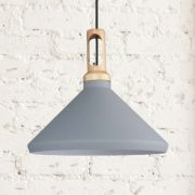 Biard Orlu Grey Pendant Light