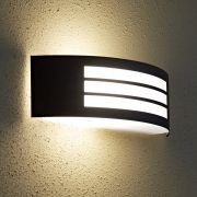 Biard Orleans Small Outdoor Wall Light - Black