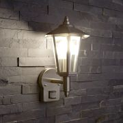 Biard Cannes IP44 Outdoor Wall Lantern with PIR