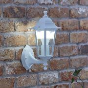 Biard Toulon Outdoor Wall Lantern - White