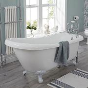 Milano Freestanding Slipper Bath