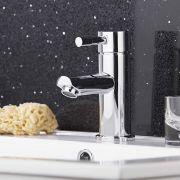 Milano - Modern Mono Basin Mixer Tap - Chrome