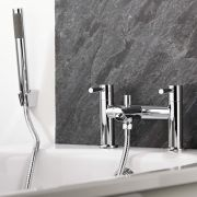Milano Mirage Chrome Bath Shower Mixer Tap