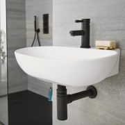 Milano Nero - Basin Bottle Trap - Black