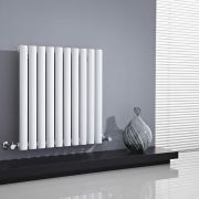 Milano Aruba - White Horizontal Designer Radiator - All Sizes
