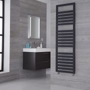 Lazzarini Way Urbino - Anthracite Designer Heated Towel Rail - 1600mm x 500mm