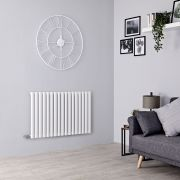Milano Aruba Electric - White Horizontal Designer Radiator - 635mm x 1000mm