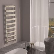 Milano Passo - Aluminium Designer Heated Towel Rail 1590 x 500mm Brushed Chrome
