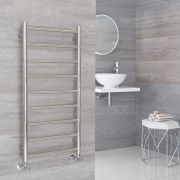 Milano Esk - Stainless Steel Flat Heated Towel Rail - 500mm x 1000mm