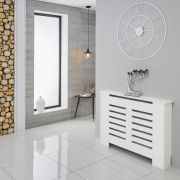 Milano Elstree - White Radiator Cabinet - 820mm x 1110mm