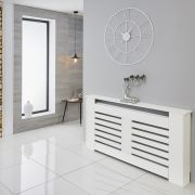Milano Elstree - White Radiator Cabinet - 820mm x 1520mm