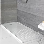Milano - Low Profile Rectangular Walk-In Shower Tray - Choice of Sizes
