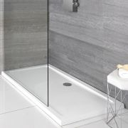 Milano Low Profile Rectangular Shower Tray 1400 x 900mm